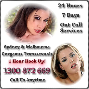 Tranny Escorts Sydney and Melbourne